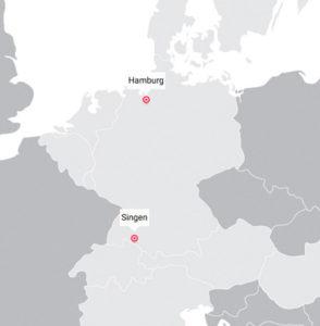 Fahrplan Singen-Hamburg