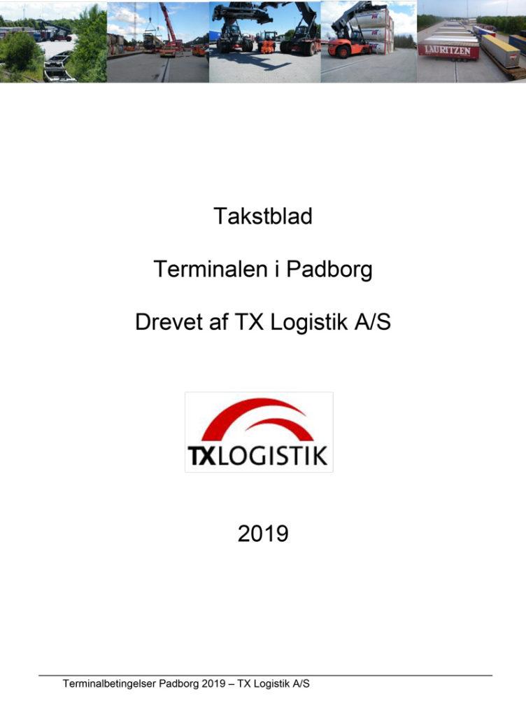 Pricesheet-Terminal-Padborg-2019-Danish